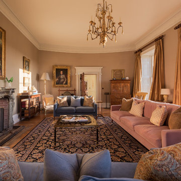 A grand country house on The South Coast of England