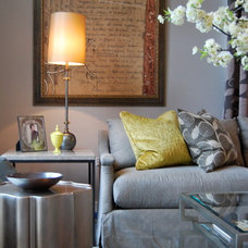 Contemporary Living Room by david anthony chenault D2