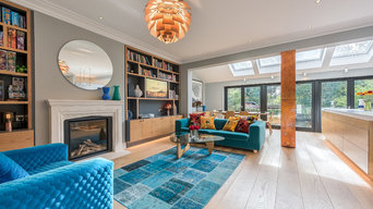 A Modern & Colourful Home, Muswell Hill