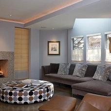 Contemporary Living Room by ONEinteriors