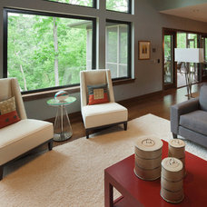 Contemporary Living Room by Lori Wiles Design