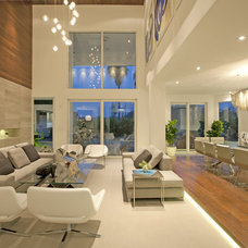 Contemporary Living Room by DKOR Interiors Inc.- Interior Designers Miami, FL