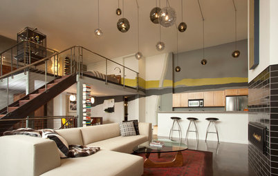 My Houzz: Modern Loft in a Converted 1920s Movie Theater