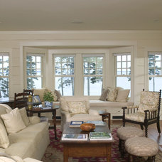 traditional living room by Knight Associates