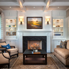 Traditional Living Room by GRADY-O-GRADY Construction & Development, Inc.
