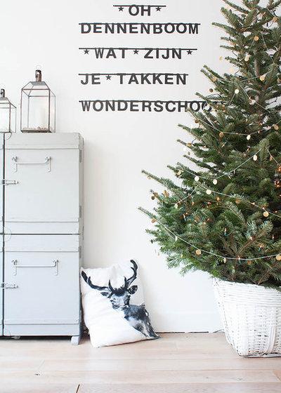 Scandinavian Living Room by Louise de Miranda