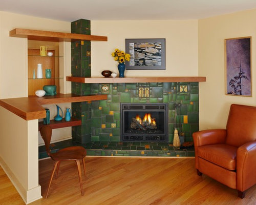 Arts And Crafts Fireplace Home Design Ideas Pictures