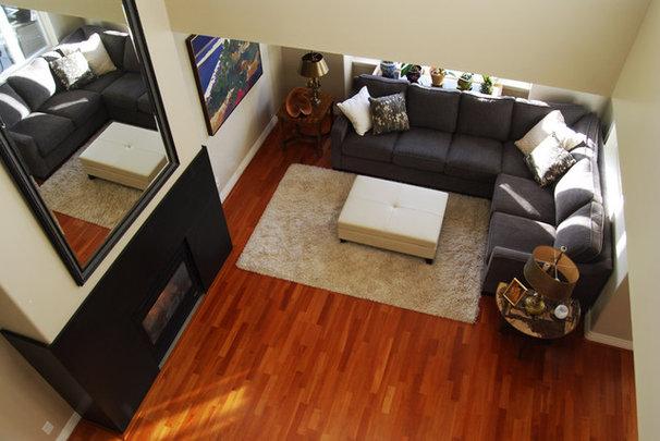 Traditional Living Room by Megan Buchanan