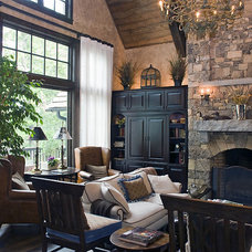 Traditional Living Room by The Berry Group