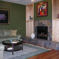 Contemporary Living Room by Image Design LLC
