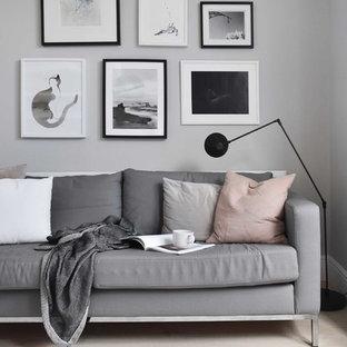 A soft, minimalist lounge makeover