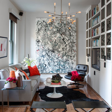 A Sophisticated Boston Living Room
