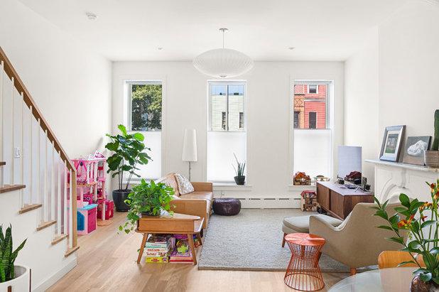 Moderne Wohnzimmer Foto von Pixy