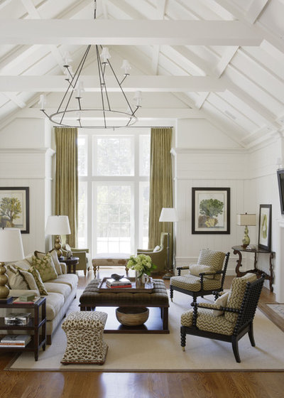 Traditional Living Room By JBanks Design Group