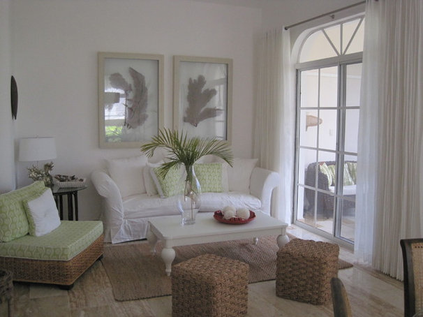 Tropical Living Room by Lucienne Carlo