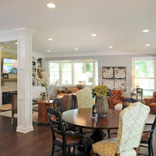 Traditional Living Room by Dave Fox Design Build Remodelers