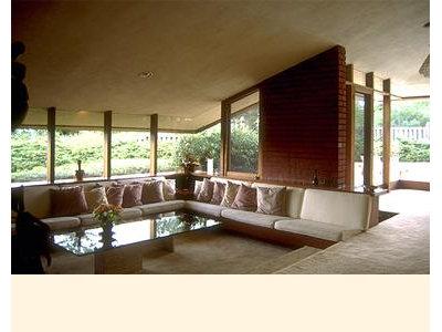 Living Room by AARON GREEN ASSOCIATES