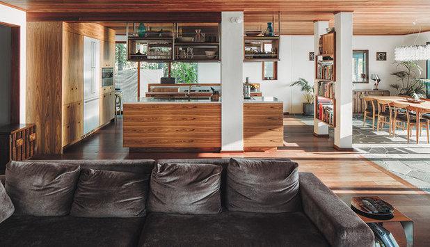 Modern Vardagsrum by Wrede Fastighetsmäkleri
