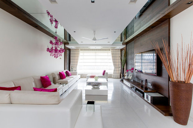 Contemporary Living Room by Violet design