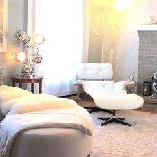 Contemporary Living Room Abadin Bed and Breakfast between Montreal and Ottawa