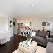 Contemporary Living Room by Sold By Style Home Staging & Redesign