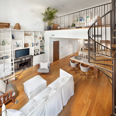 Contemporary Living Room by Morgan Howarth Photography