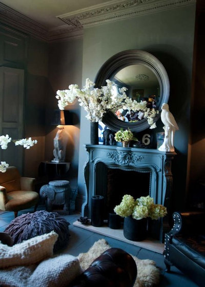 Eclectic Living Room by Abigail Ahern
