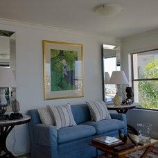 Traditional Living Room Abitare Sydney
