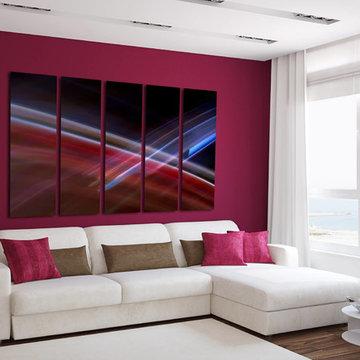 Abstract Fine Art Giclee, Contemporary Modern Wall Decor 3