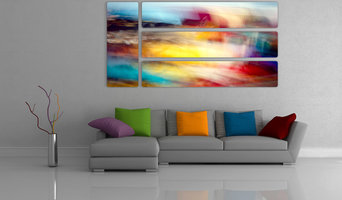 Abstract Prints on Aluminum