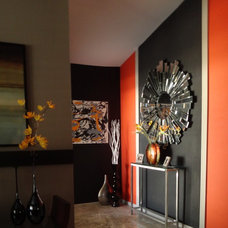 Modern Living Room Accent Wall