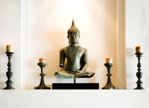 Asian Living Room by Maureen Mahon