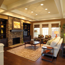 Modern Living Room by Weaver Custom Homes