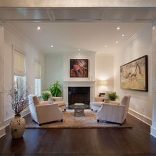 Traditional Living Room by Phil Kean Design Group