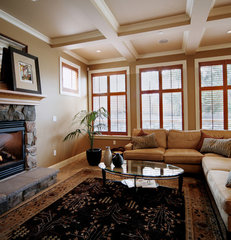 traditional living room by LisaLeo designs