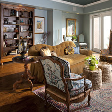 Traditional Living Room by RSVP Design Services