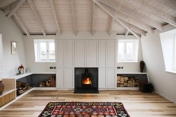 Scandinavian Living Room by Martha Read Architects