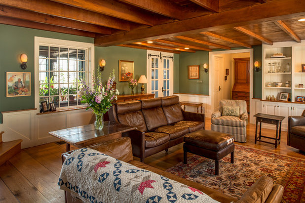Traditional Living Room by Period Architecture Ltd.