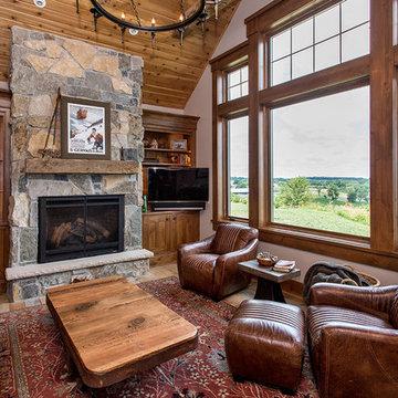 Adel Ridge custom home
