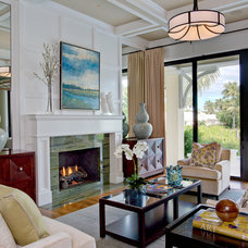 Contemporary Living Room by Godfrey Design Consultants Inc