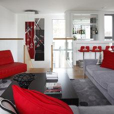 Modern Living Room by Adrienne Chinn Design