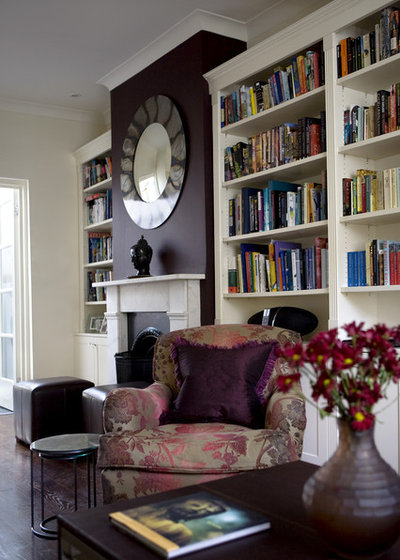Contemporary Living Room by Adrienne Chinn Design