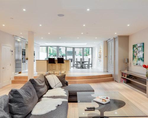 Split level living room ideas