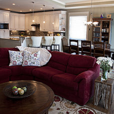 Eclectic Living Room by Olive Tree Interior Designs