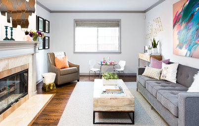 Houzz Tour: Globetrotting Couple Make a New Start in California