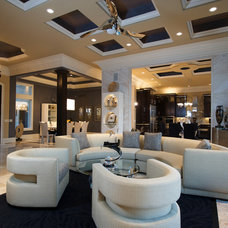 Contemporary Living Room by Affinity Building Solutions