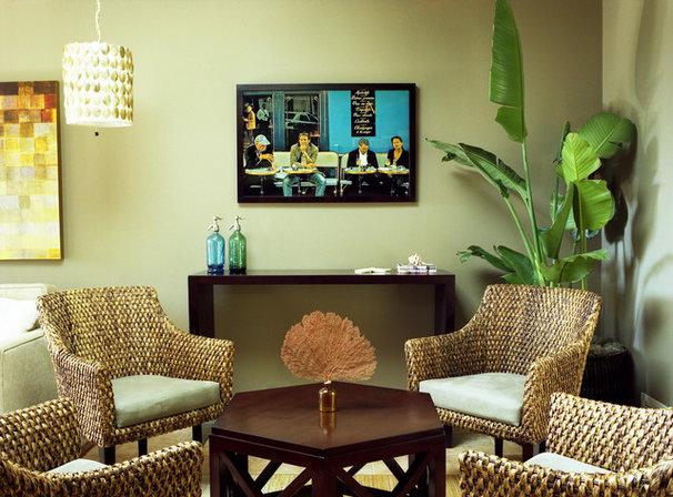 Contemporary Living Room by Alicia Friedmann Interior Design