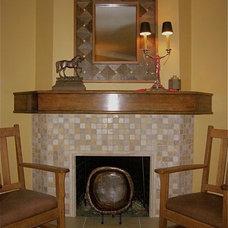 Eclectic Living Room by InterDesign Studio
