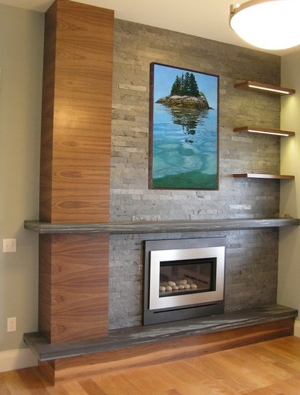 Modern Living Room by M.R. BREWER INC.
