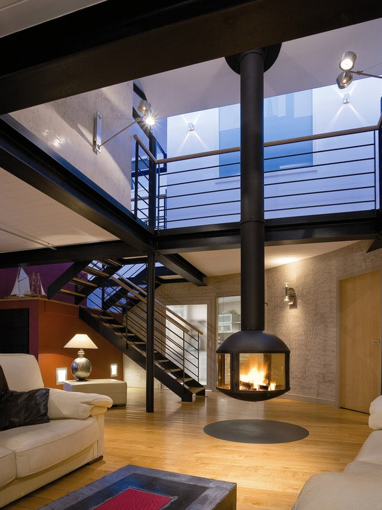 Suspended Wood Stove Houzz